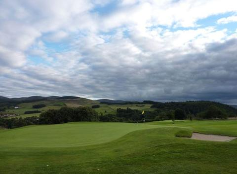 Peebles golf course