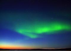 Insolite Sodankylä Aurores boreale