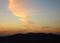 Ciel Annaba Crépuscule féerique