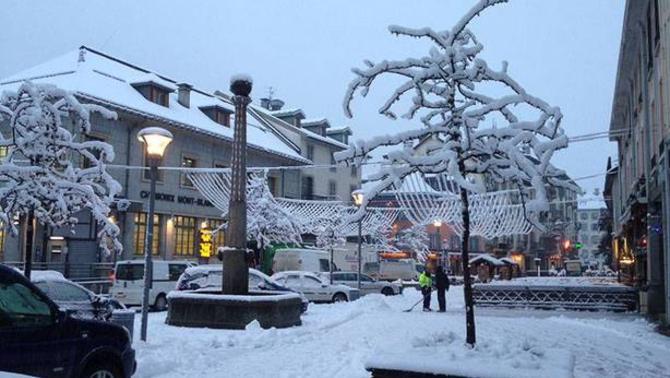 Reporters - Chamonix-Mont-Blanc 74400 - Neige