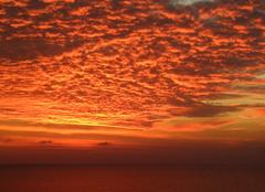Paphos Le ciel en feu