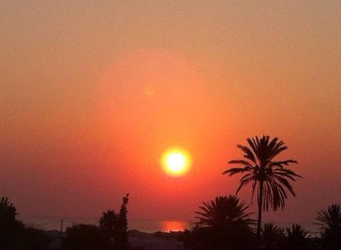 Levé du soleil sur bagdadi