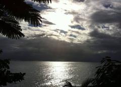Ciel au coucher de solei
