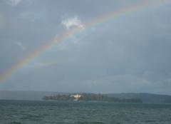 Relevés Constance Arc en ciel sur l'ile Mainau