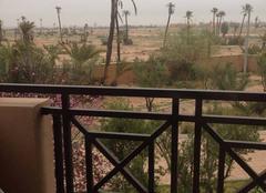 Ciel Marrakech Très couvert