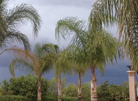 Un bel orage en perspective