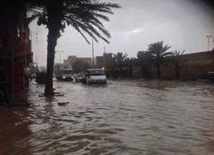 Pluie Tozeur Inondations