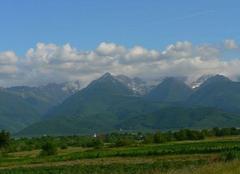 Sibiu Montagnes en Roumanie