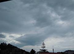 Fin soir orageux