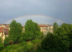 Turin 10100 Arc-en'ciel sur Superga