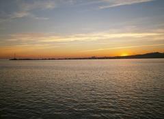 Ciel Montevideo Crépuscule uruguayen...