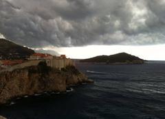 Orage Dubrovnik Orage sur dubrovnik