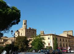 Ciel Volterra 56048 Ciel bleu pur en toscane