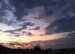 Le soleil se lève sur peñiscola