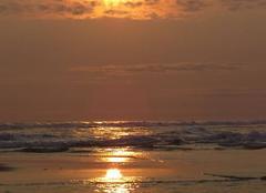 Ciel Port-Gentil Coucher de soleil cap lopez