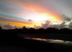 Ciel Dakar Couché de soleil