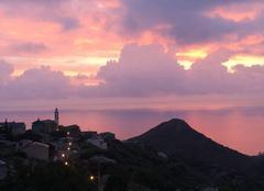 Ciel San-Martino-di-Lota 20200 Lever se soleil