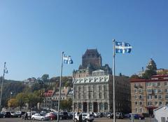Ciel Québec Château de frontenac