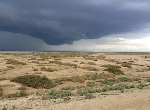 Premiers orages de la saison