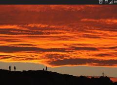 Ciel Zumaia 20750 Magie du soleil couchant