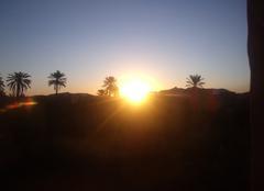 Ciel Ouarzazat Lever du soleil ......