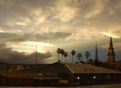 Nuages de fin d'orages