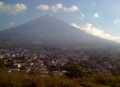 Relevés Antigua Photo du volcan Aqua, Guatemala