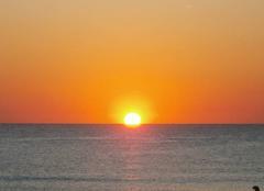 Ciel Tel Aviv Coucher de Soleil sur Tel Aviv