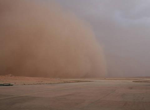 Un vent de sable a Laghouat