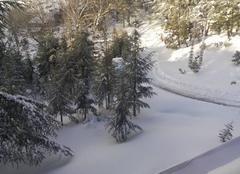 Neige Bouira La beauté de l'algerie