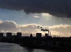 Nuages Bâle Temps nuageux ,