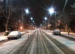 Neige Imouzzer Snowy night