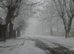 Imouzzer sous le neige