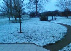 La neige pas prevu s'invite en loire atlantique