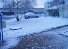 La neige s'invite