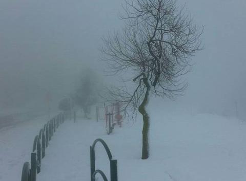 Jérusalem sous la neige