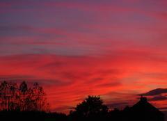 Couchant du soleil - Canterbury
