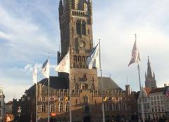 Ciel Bruges Beffroi de bruges