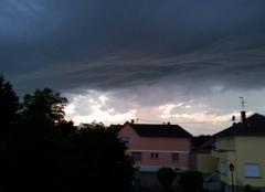 Orage Munchhausen 67470 Le temps se gâte
