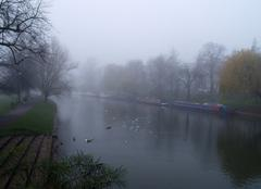 Brouillard Cambridge The fog !