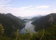 Ciel Montenegro Lac de skadar