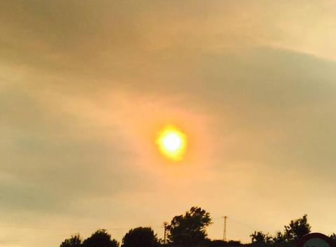 Sol, afectar per fin incendi odena