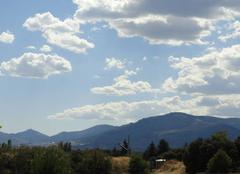 Nuages Alpedrete 28430 Quelques cumulus