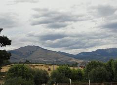 Nuages Guadarrama 28440 Couverture nuageuse imprévue