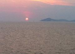 Ciel Ischia 80077 Coucher de Soleil sur L'Ile d'Ischia