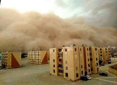 Djelfa Tempète de sable