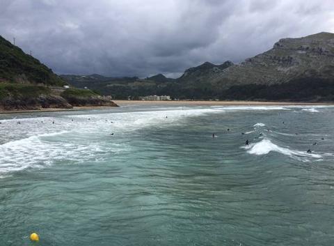 Surf en cantabrie