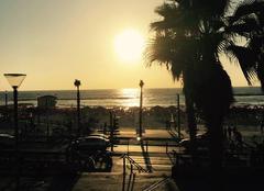 Ciel Tel Aviv A la plage un soie