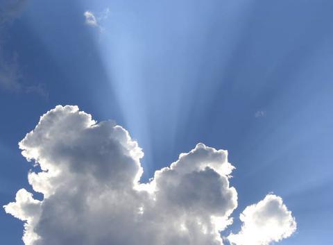 Le nuage joue � cache cache