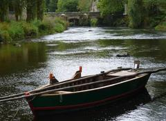 Reflets sur la rivière Scorff